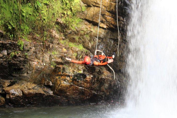 The Best Extreme Canyoning -Cashaurco in -Banos Ecuador, Baños, ECUADOR
