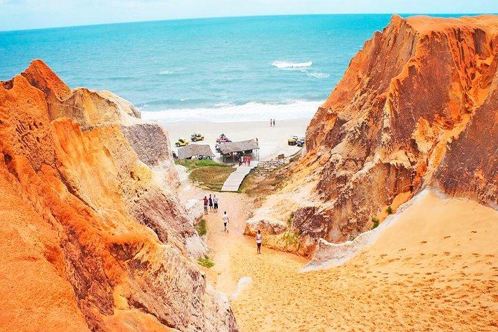 Paseo 3 Playas en 1 día. Salida de Fortaleza, Fortaleza, BRASIL