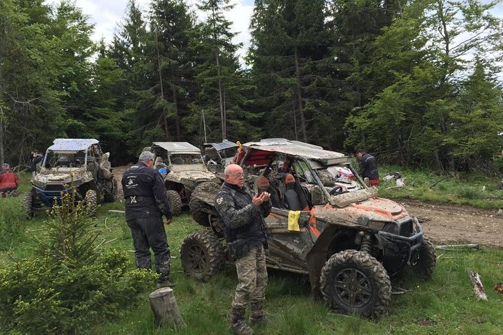 UTV Tour in the Brasov mountains, Brasov, RUMANIA