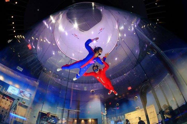 Dallas Indoor Skydiving Experience with 2 Flights & Personalized Certificate, Dallas, TX, ESTADOS UNIDOS