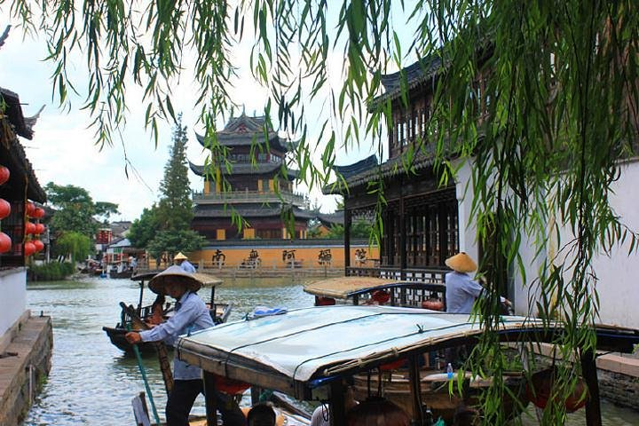 Flexible Half Day Tour to Zhujiajiao Water Town with Boat Ride from Shanghai, Shanghai, CHINA