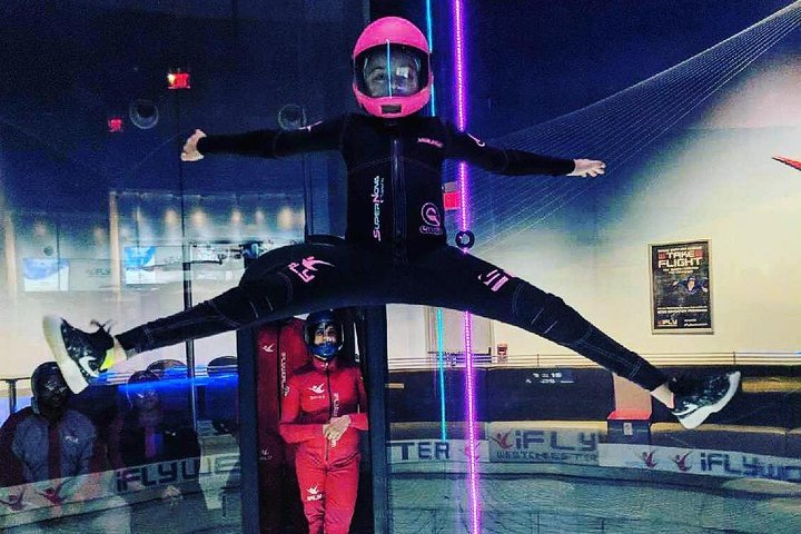 Austin Indoor Skydiving Experience with 2 Flights & Personalized Certificate, Austin, TX, ESTADOS UNIDOS