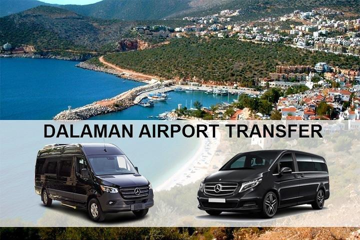Dalaman Airport DLM Transfers to Kalkan Hotels, Kas, TURQUIA