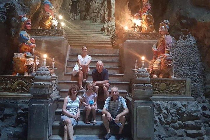 DA NANG NIGHT LIFE Tour with MARBLE MOUNTAIN & LADY BUDDHA STATUE, DRAGON BRIDGE, ,