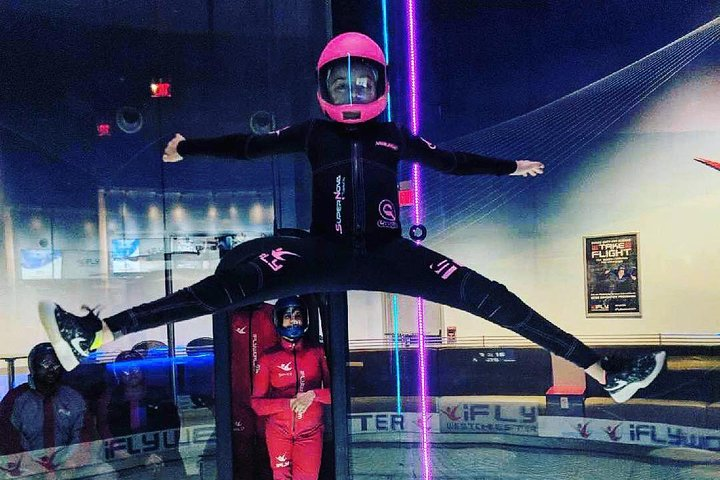San Francisco Indoor Skydiving with 2 Flights & Personalized Certificate, ,