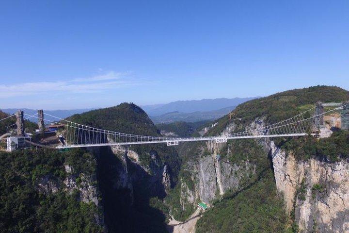 Private 2-Day Tour Combo Package: Zhangjiajie Grand Canyon and Tianmen Mountain, Zhangjiajie, CHINA