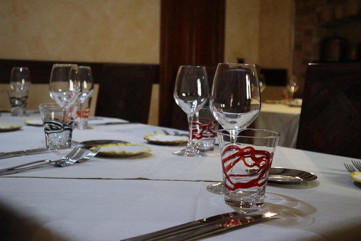 Gourmet dinner in the centre of Pizzo, Tropea, ITALIA