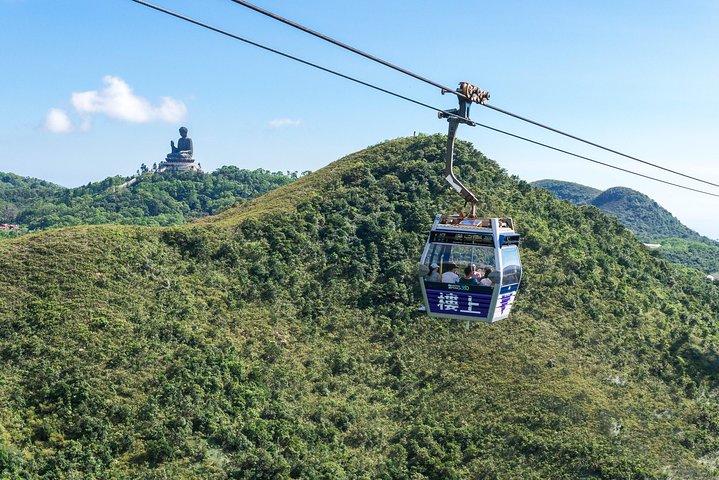 Ngong Ping 360 Cable Car Ticket on Lantau Island, Hong Kong, CHINA