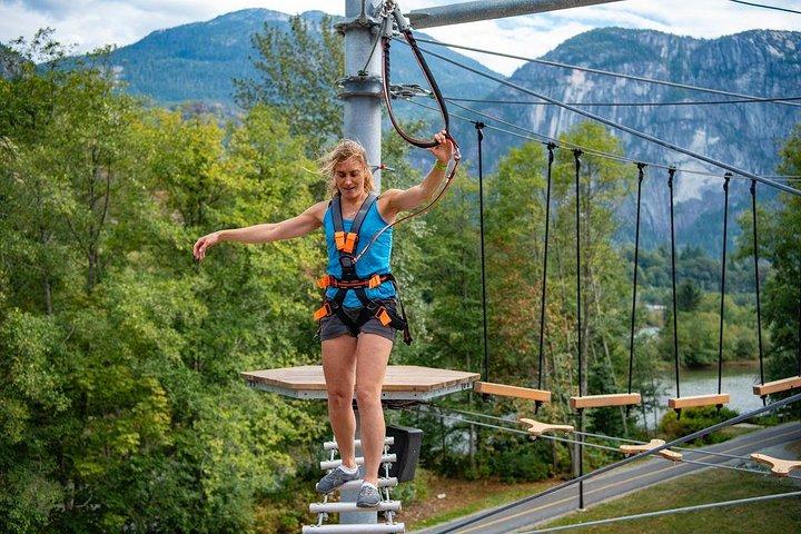 2 Hour Ropes Course Adventure Squamish, Squamish, CANADÁ