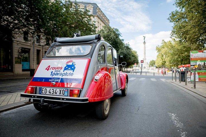 Bordeaux City Sightseeing Citroën 2CV Classic Car Private Guided Tour, Bordeaux, FRANCE