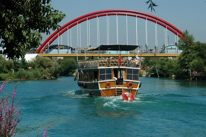 Manavgat Bazaar, Boat Trip from Side, Side, TURQUIA