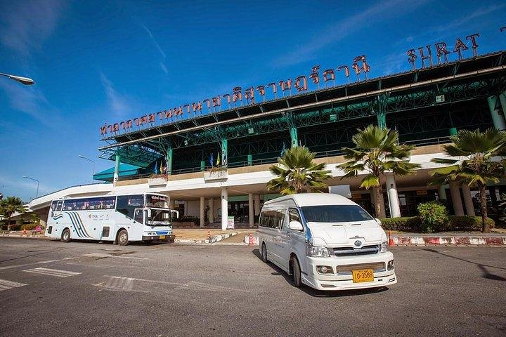 Surat Thani Airport to Koh Phangan by Shared Minivan and Seatran Discovery Ferry, Surat Thani, Tailândia
