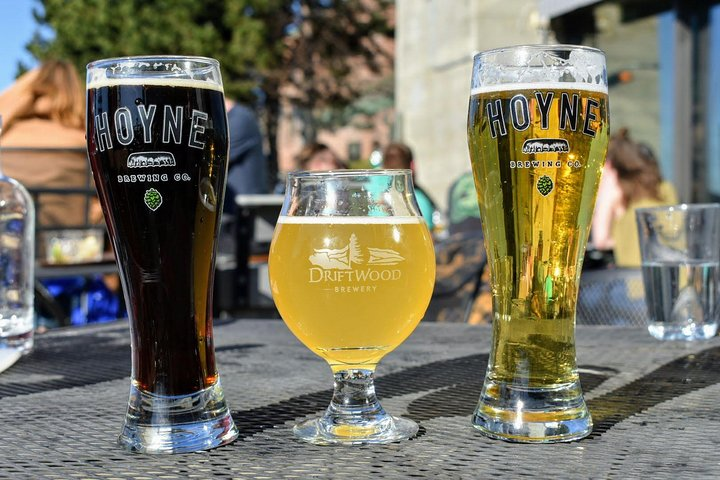Gourmet Dinner Tour Including Local Beer, Wine and City Highlights, Victoria, CANADA