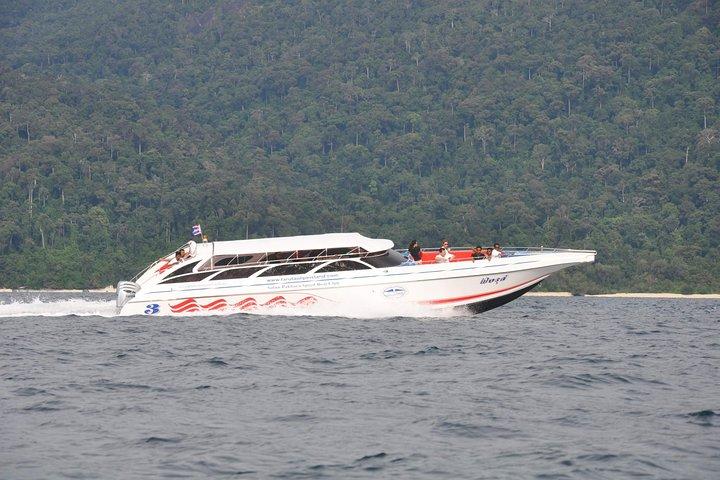Koh Lipe to Koh Lanta by Satun Pakbara Speed Boat in High Season, Ko Lipe, Tailândia