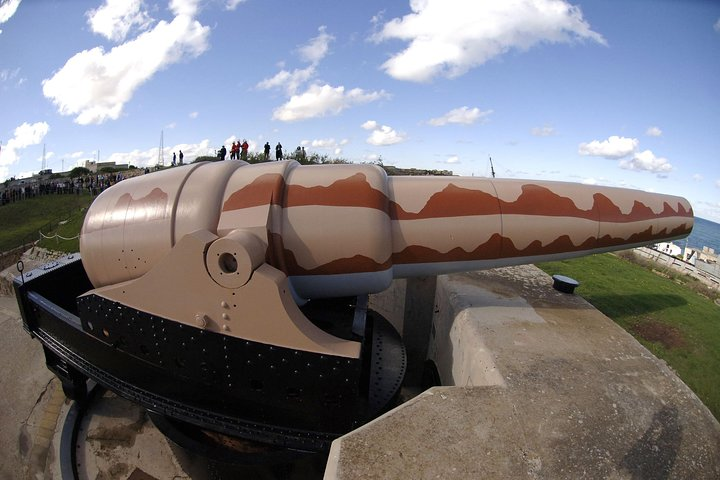Fort Rinella animated tour, home to the world's largest cannon gun, ,