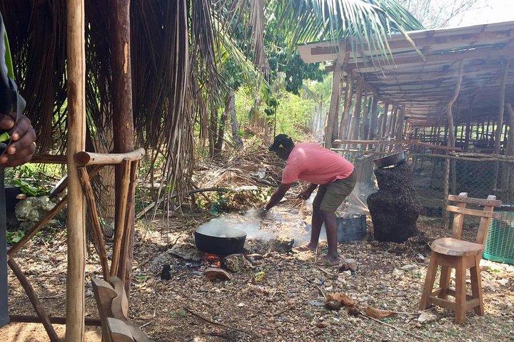 Clase de comida típica Isleña Rondon VIP Experience, San Andres, COLOMBIA