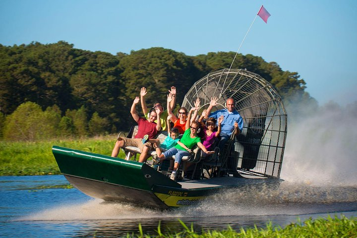Everglades Airboat 30 or 60 min with pickup or self drive options, Miami, FL, UNITED STATES