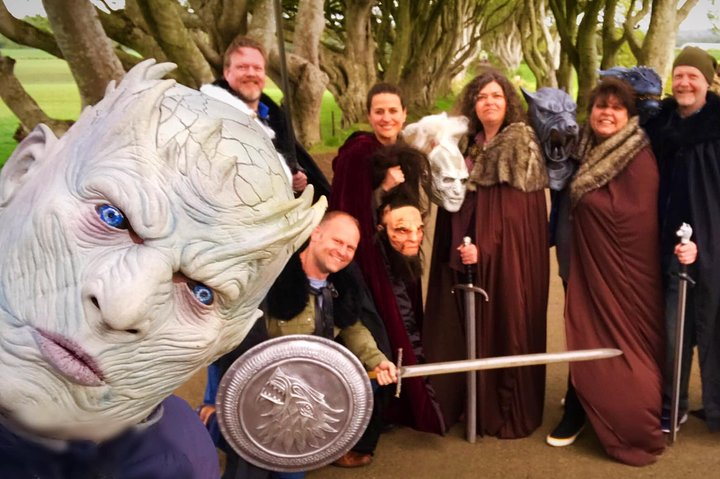 Game of thrones and Blood moon Private 9 hour over 25 locations season 1-8, Belfast, IRLANDA