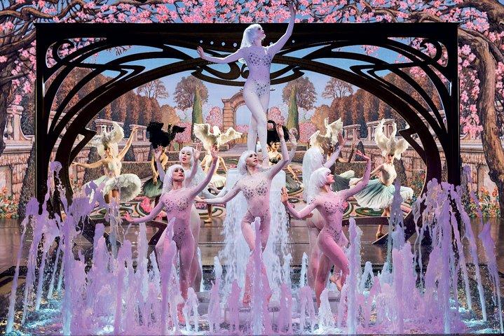 Espectáculo cabaré Paris Merveilles del Lido de París, Paris, FRANCIA