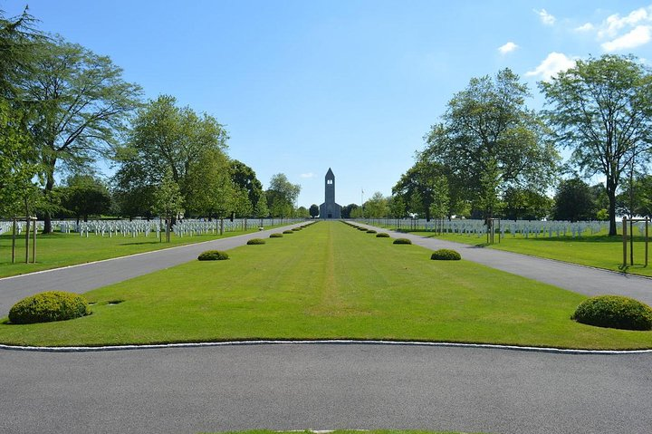 Private guided shuttle to Brittany American Cemetery and Mont Saint Michel, Monte Saint-Michel, FRANCE