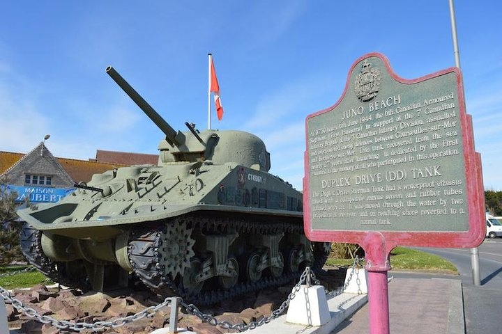 Private guided Canadian D-Day Tour from Bayeux, Bayeux, FRANCE