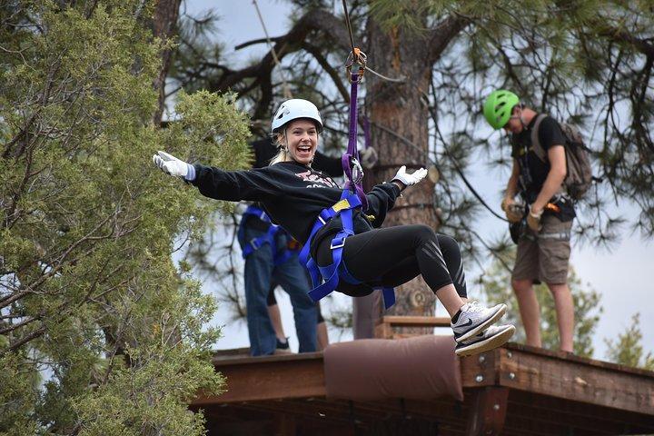 6-Zipline Adventure in the San Juan Mountains near Durango, Durango, CO, ESTADOS UNIDOS