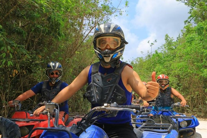 ATVs en la Riviera Maya + Tirolesas en Selvatica, Tulum, MEXICO