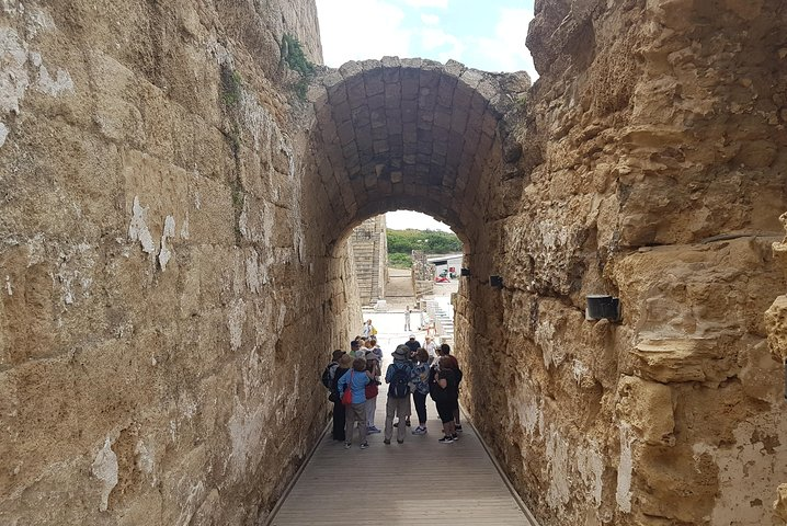 Highlights of Caesarea, Haifa, Acre and Rosh Hanikra Tour from Tel Aviv, Herzliya, ISRAEL