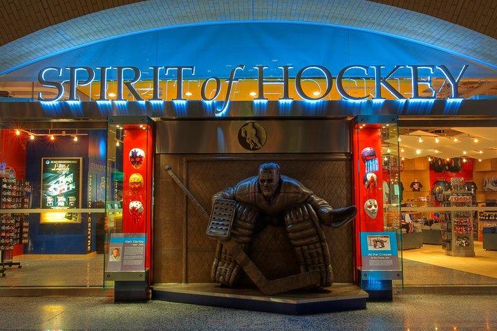 Entrada al Salón de la fama del hockey, Toronto, CANADA