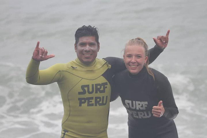 Surf Lessons in Lima, Lima, PERU
