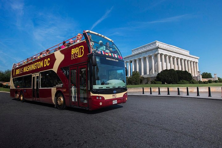 Recorrido en un gran autobús con paradas libres por Washington DC, Washington DC, ESTADOS UNIDOS