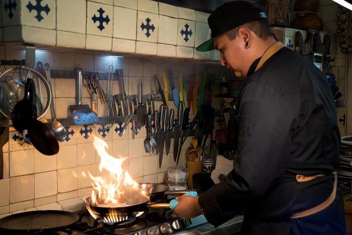 Aula de culinária da comida mexicana, Ciudad de Mexico, MÉXICO