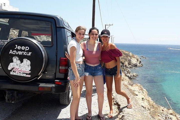 Jeep Mykonos Adventure, Miconos, GRECIA