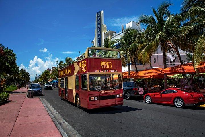 Excursão noturna por Miami em um ônibus Big Bus, Miami, FL, ESTADOS UNIDOS