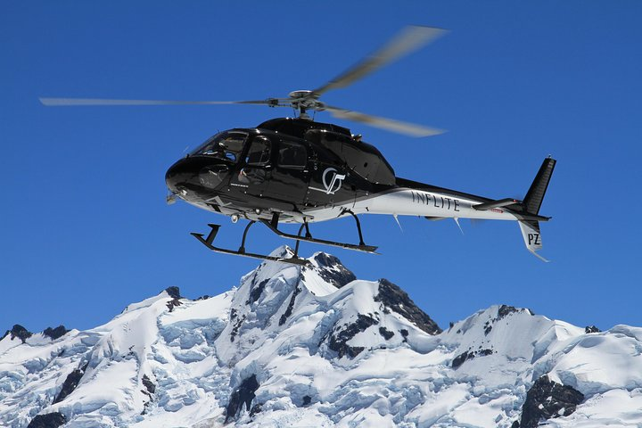 25-Minute Helicopter flight including an alpine landing, Canterbury, New Zealand
