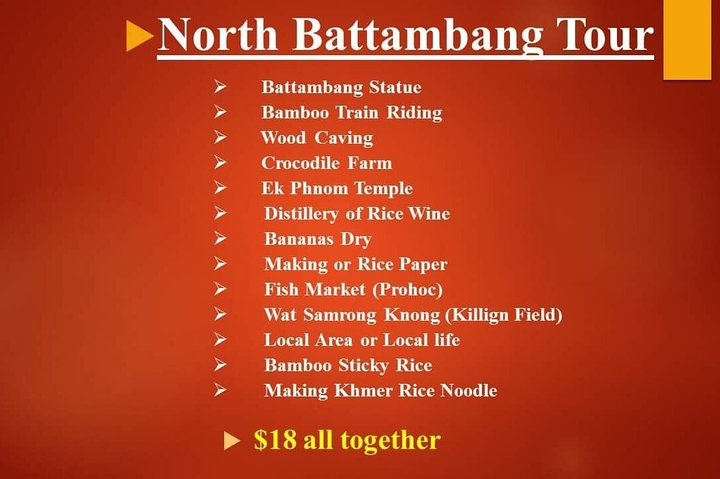 Battambang Tour by Mr. Vatthana, Battambang, CAMBOYA