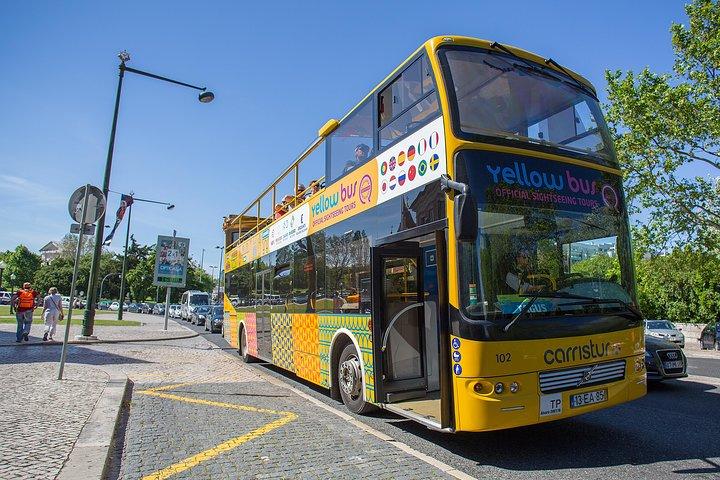 Visita turística combinada en Lisboa: excursión en autobús con paradas libres por Lisboa con cuatro rutas con tranvía, Lisboa, PORTUGAL