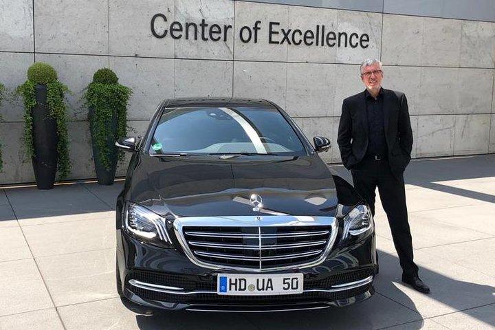 Trip to Palatinate with a friend and his Mercedes S-Class - true first-class service, Estrasburgo, França