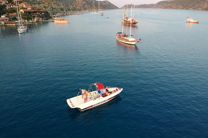 Kekova Cruise by Speed Boat from Demre Harbour, Kas, TURQUIA