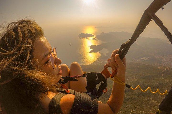 Paragliding at Fethiye Oludeniz, Fethiye, Turkey