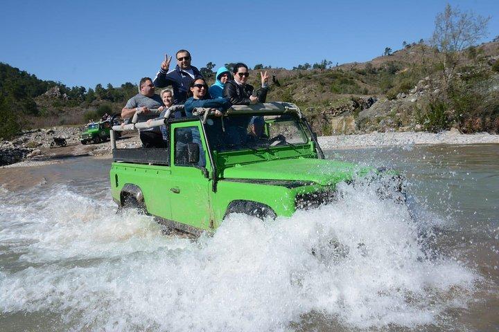 Green Lake Jeep Safari and Boat Tour, Side, TURQUIA