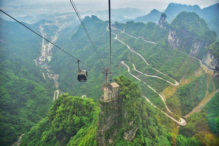 Zhangjiajie Tianmen Mountain Private All-inclusive Day Tour, Zhangjiajie, CHINA