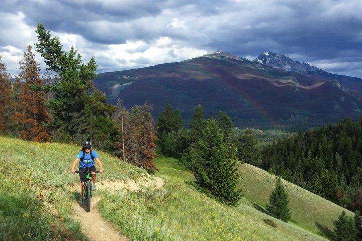 3hr Private Mountain Bike Tour in Jasper National Park, Jasper, CANADA