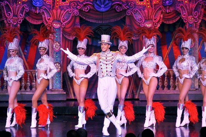 Paris Moulin Rouge Cabaret Show with VIP Seating & Champagne, Paris, FRANCE