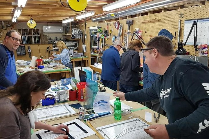 Create your own Stained Glass Masterpiece, Saint Johns, CANADA