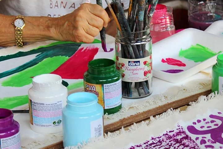 Paraty Art Experience - 3 Hours of Painting Class, Paraty, BRASIL