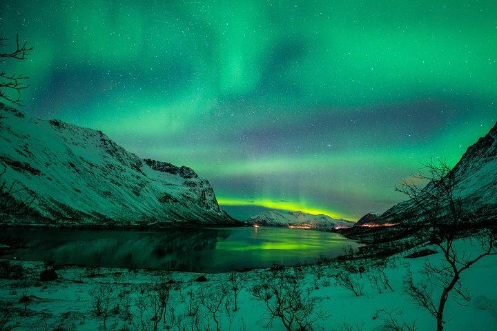Caza de Auroras - Tour en Español, Northern Lights Chase in Spanish, Tromso, NORUEGA