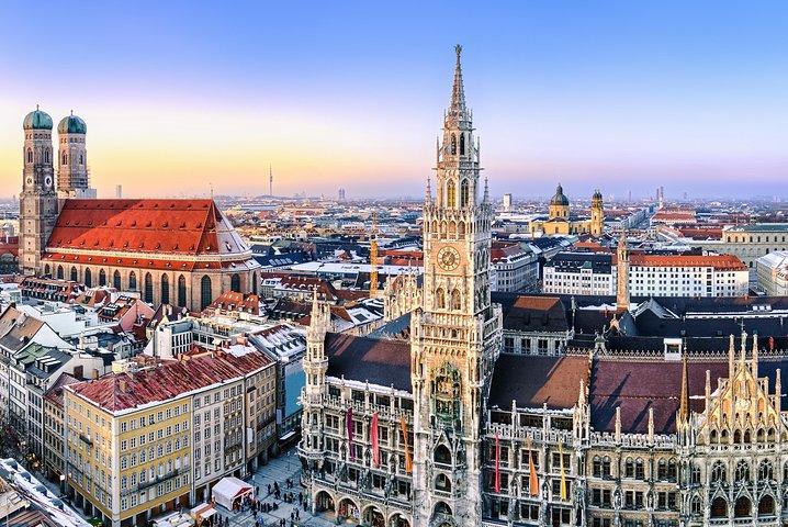 Traslado de partida compartilhado: Estação Central de Munique para Aeroporto de Munique, Munique, Alemanha
