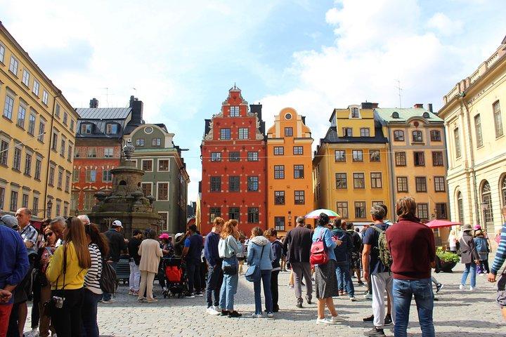 Walking Tour of Stockholm Old Town, Estocolmo, Sweden