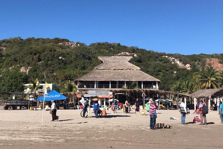 Escapada a la playa de Stone Island, Mazatlan, MEXICO